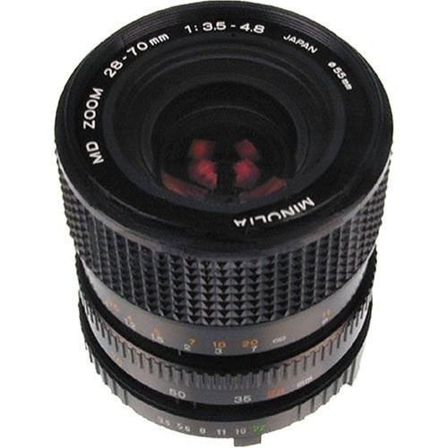Konica Minolta MD 28 70mm f/3 5 4 8 35mm Zoom user reviews